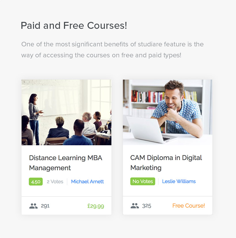 Studiare - Education WordPress Theme for Univeristy & Online Courses - 4